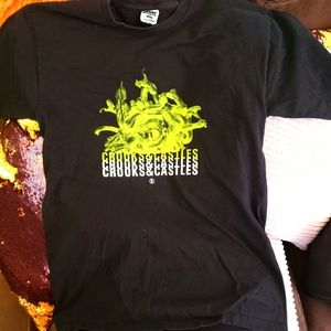 Mens Crooks and Castles graphic tee size M
